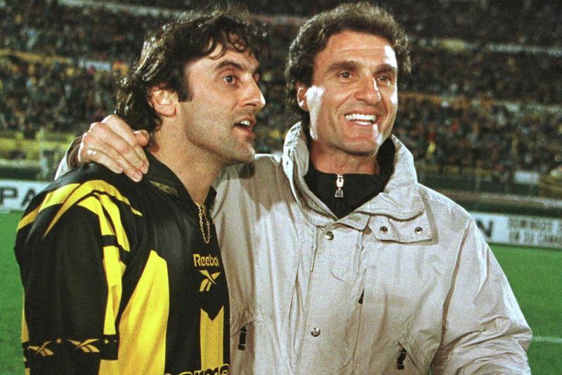 Enzo Francescoli y Oscar Ruggeri
