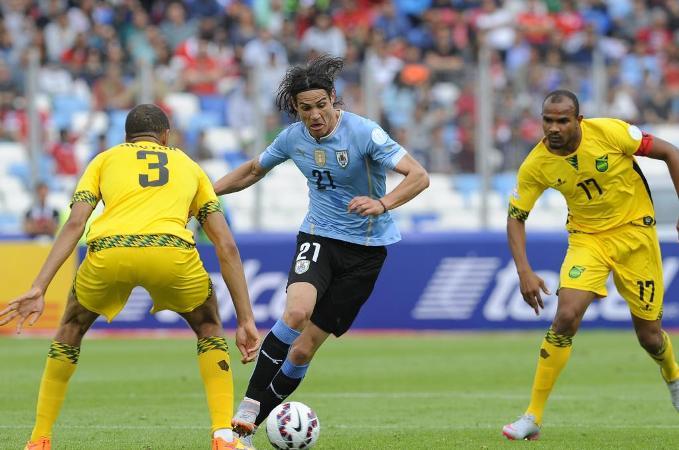 Seleccion de Jamaica vs Seleccion de Uruguay