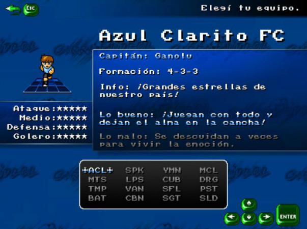 La selección uruguaya en Garra Fútbol.